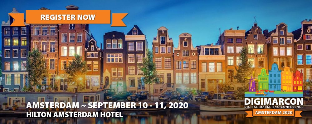 DigiMarCon Amsterdam 2020 Register